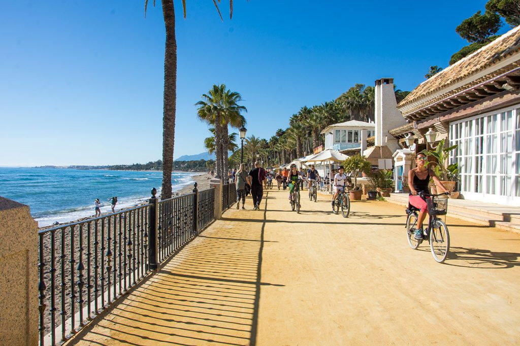 Best place to exercise Puente Romano Marbella