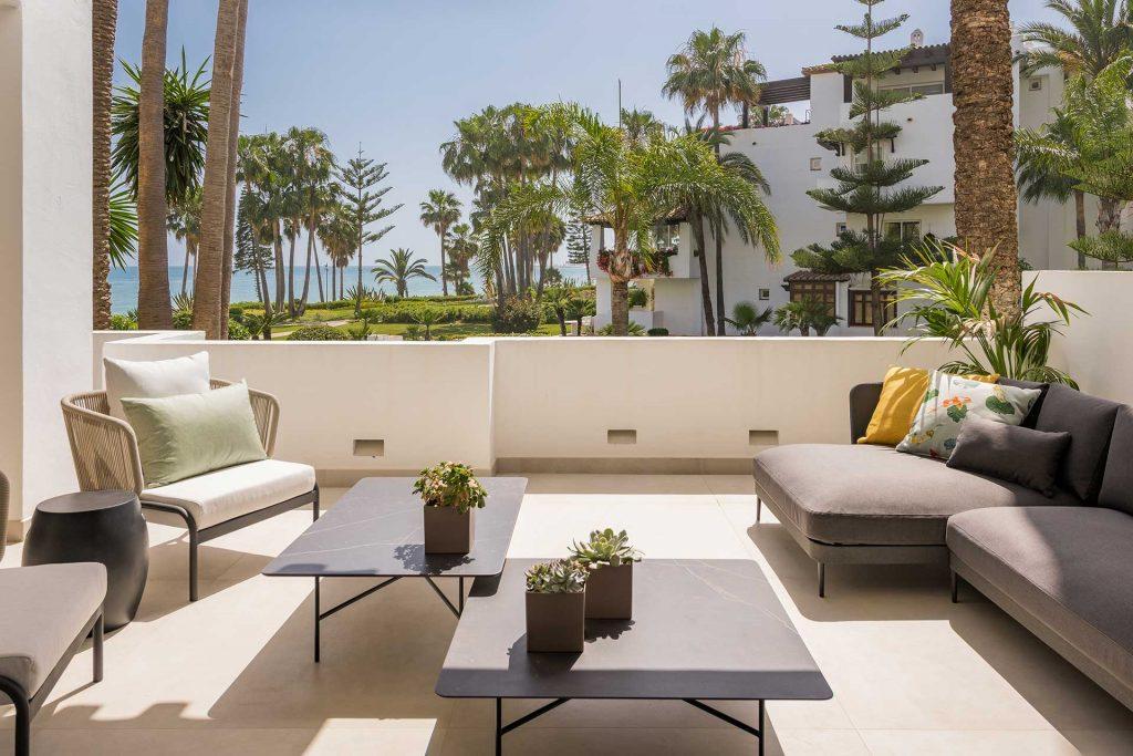 Dalia accommodation in Puente Romano, luxury apartments in Marbella